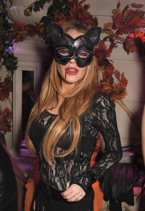 Lindsay Lohan jako kot