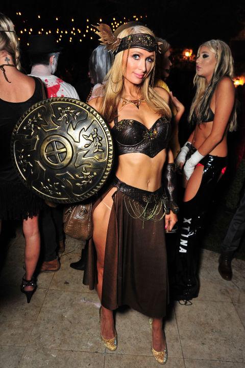 Paris Hilton jako wojownicza księżniczka