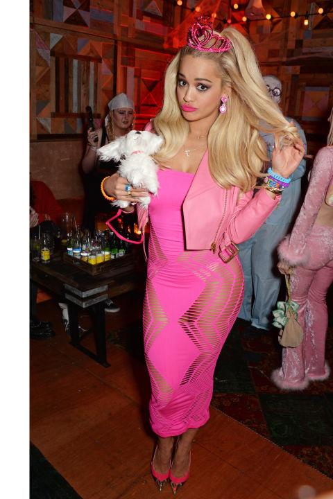 Rita Ora jako Barbie