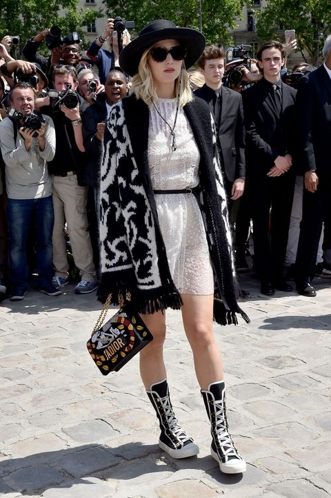 Lipiec 2017, Paris Fashion Week (stylizacja Christian Dior)