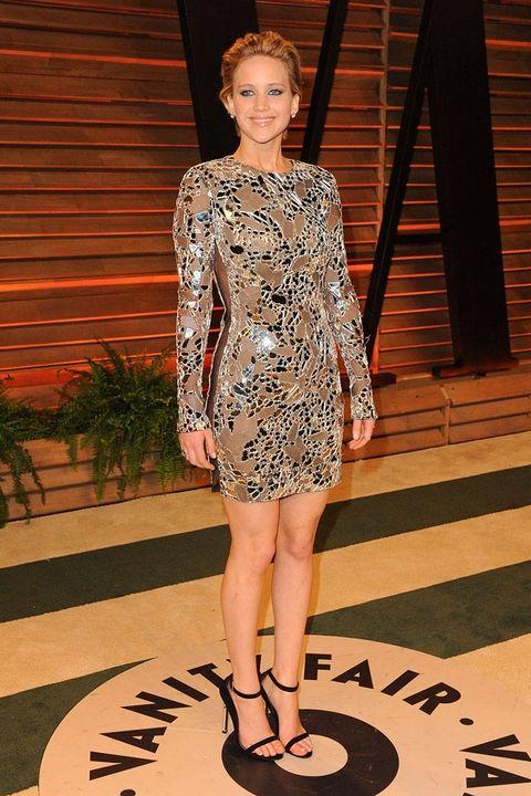 Marzec 2014, Vanity Fair Oscar Party (suknia Tom Ford)