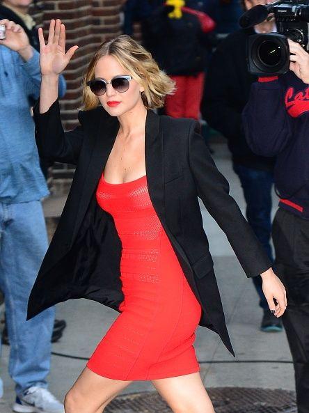 listopad 2014, Nowy Jork (sukienka Antonio Berardi)