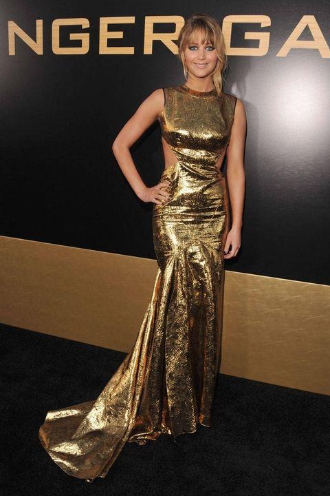 marzec 2012, premiera filmu Igrzyska Śmierci w Los Angeles (suknia Prabal Gurung)