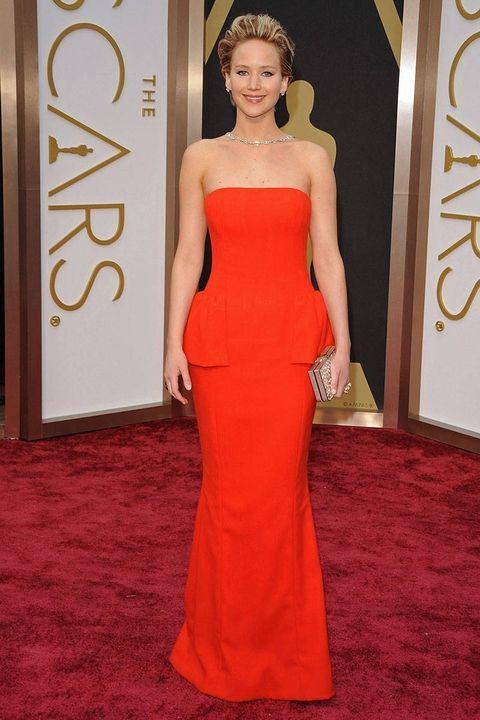 marzec 2014, rozdanie Oscarów (suknia Dior)