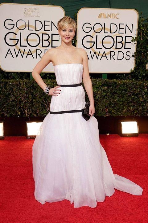 styczeń 2014, rozdanie Złotych Globów (suknia Dior)