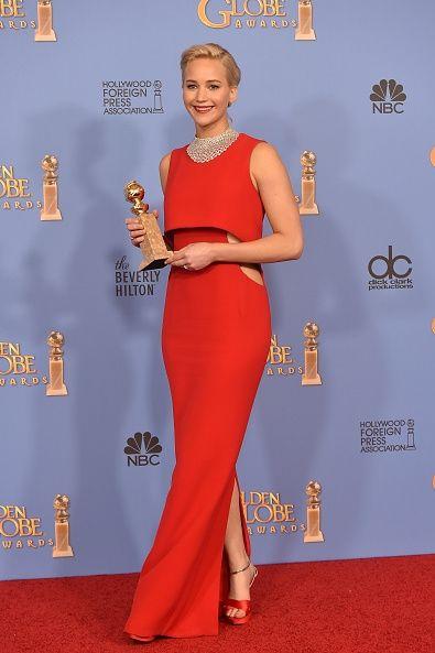 styczeń 2016, 73 gala rozdania Złotych Globów (suknia Dior)