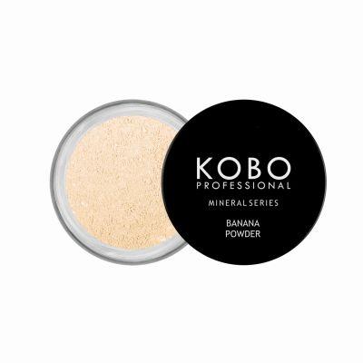 KOBO_PROFESSIONAL_MINERAL_SERIES_puder do twarzy mineralny_BANANA_POWDER