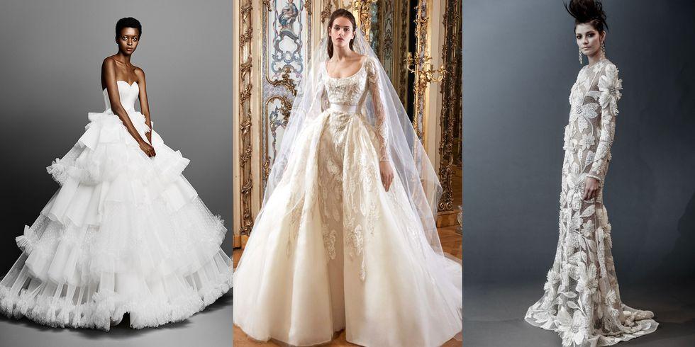 Suknie ślubne Trendy 2019 Bridal Week Dużo Zdjęć
