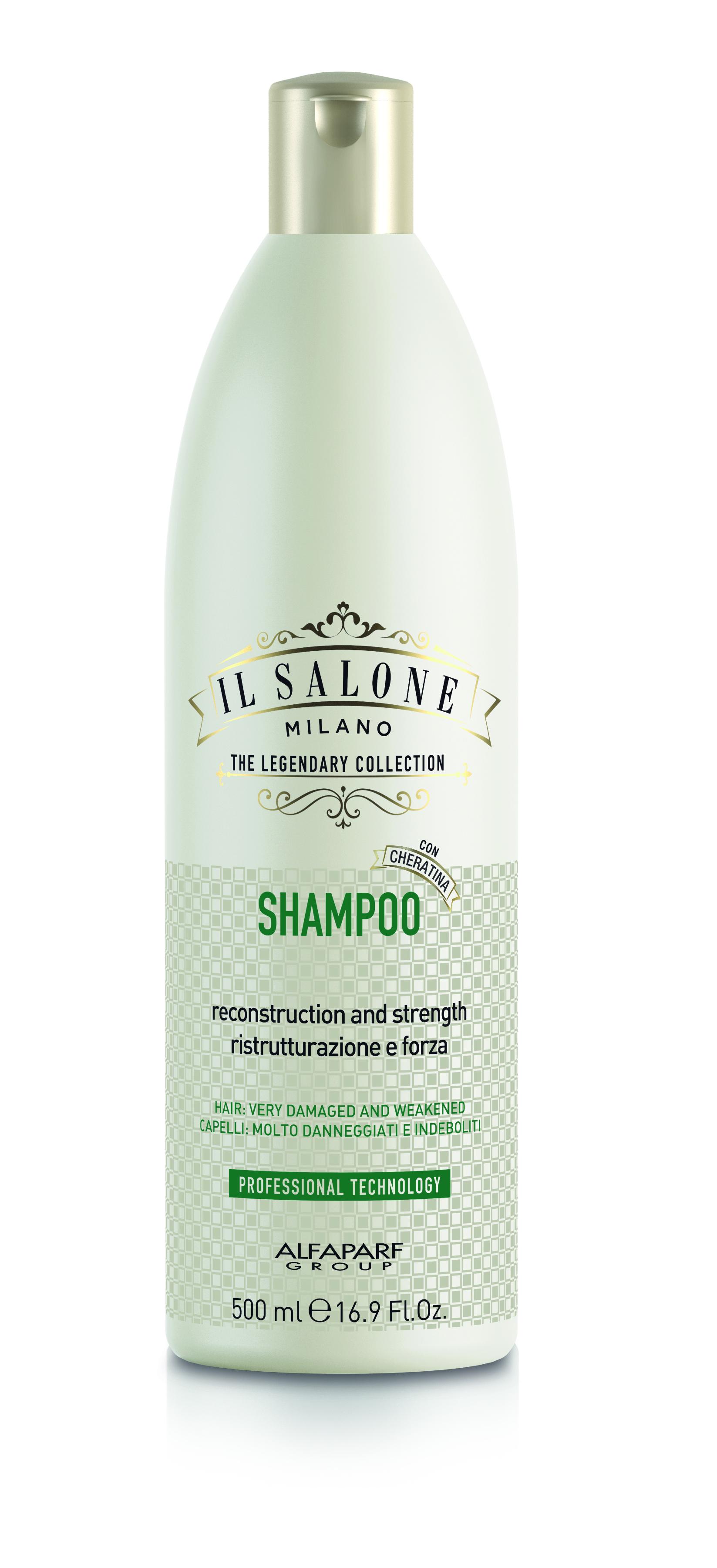 Znalezione obrazy dla zapytania il salone milano szampon keratyna
