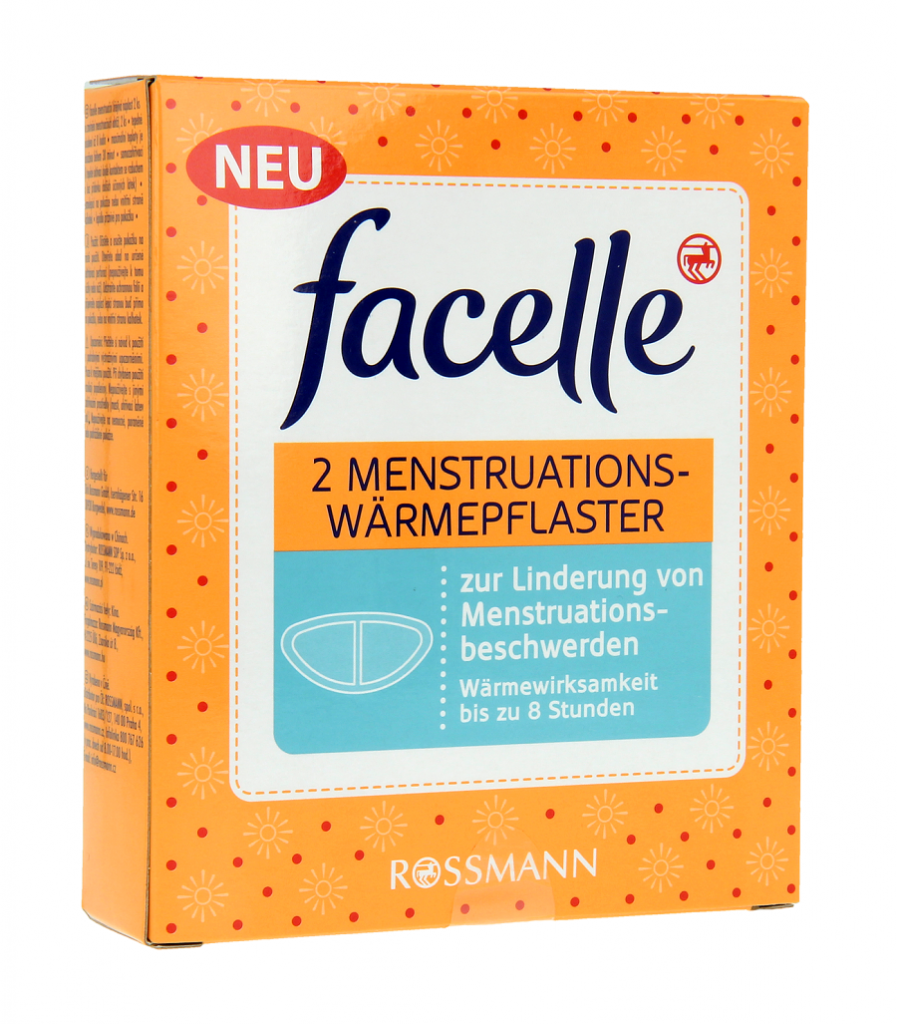 Facelle menstruacyjne plastry rozgrzewające, cena 8,99 zł_2szt