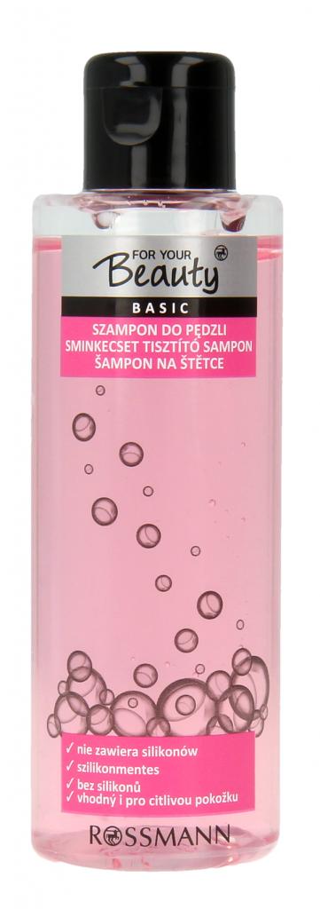 For Your Beauty szampon do pędzli sztucznych i naturalnych, cena 12,99zł_100ml