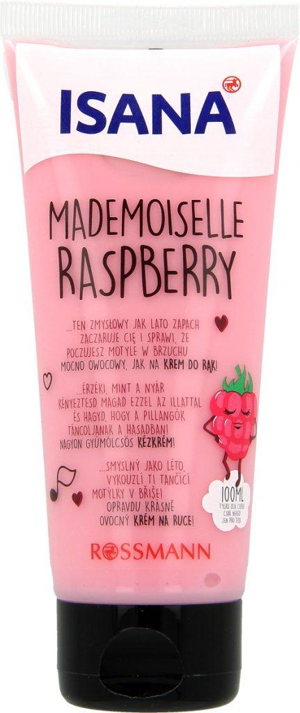 Isana Mademoiselle Raspberry krem do rąk