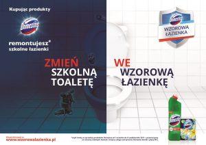 Wzorowa łazienka Z Domestos Wygraj Zestaw Produktów